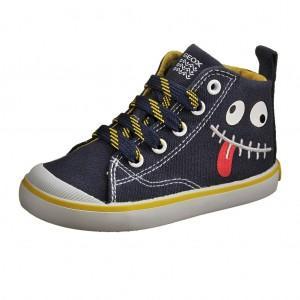 Dětská obuv GEOX B Kiwi B   /navy/yellow - Boty a dětská obuv