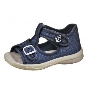 Dětská obuv Domácí sandálky Superfit 0-00292-87 -  První krůčky