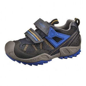 Dětská obuv GEOX J Savage B   /navy/royal -