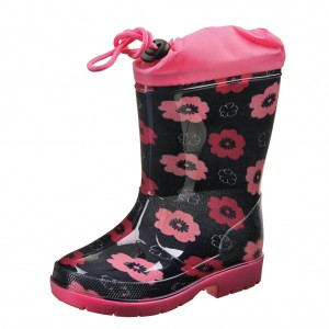 Dětská obuv Gumovky kytičky - Boty a dětská obuv