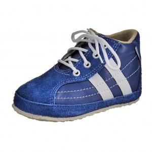 Dětská obuv Capáčky PEGRES 1090 /modré -  První krůčky