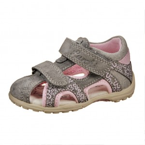 Dětská obuv Lurchi MOLO  /grey - Boty a dětská obuv