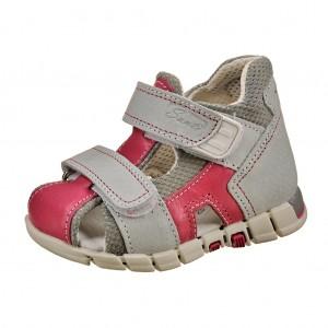 Dětská obuv Sandálky Santé 810/401 /šedo/růžová *** - Boty a dětská obuv