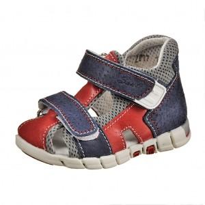 Dětská obuv Sandálky Santé 810/401 /modro/červené -