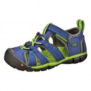 Dětská obuv KEEN Seacamp   /true blue/jasmine green - X...SLEVY  SLEVY  SLEVY...X