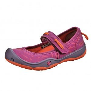 Dětská obuv KEEN Moxie Mary Jane /purple wine/nasturtium -  Celoroční