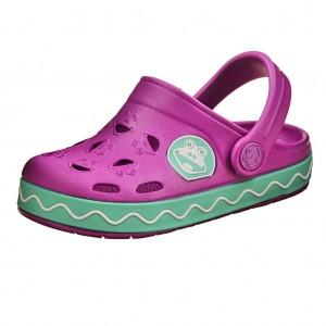 Dětská obuv Coqui   /purple/mint -  Sandály