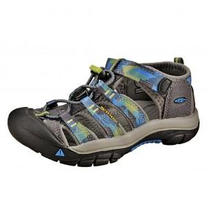 Dětská obuv KEEN Newport H2 /magnet/blue danube - Boty a dětská obuv