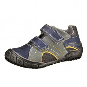 Dětská obuv Santé N401/402  /šedo modré - Boty a dětská obuv