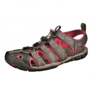 Dětská obuv KEEN Clearwater   magnet/sangria - Boty a dětská obuv