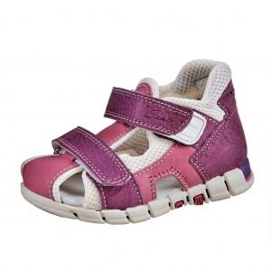 Dětská obuv Sandálky Santé 810/401 /fialovo/růžová *** - Boty a dětská obuv