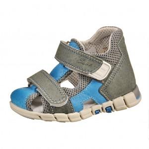 Dětská obuv Sandálky Santé 810/401 /šedo/modré *** -  Sandály