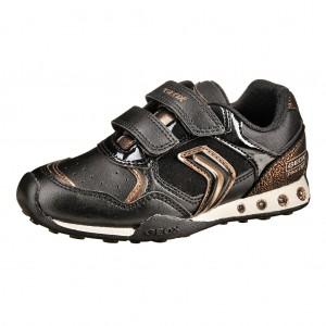 Dětská obuv GEOX J.N. Jocker G.B.  /black/bronze - Boty a dětská obuv