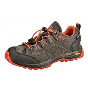 Dětská obuv Brütting Mount Bona Low /anth./orange -  Do hor nebo nížin
