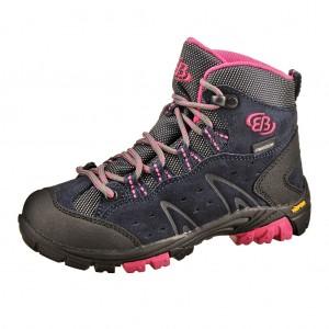 Dětská obuv Brütting Mount Bona High   /marine/pink -  Do hor nebo nížin