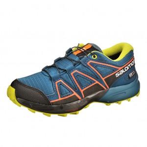 Dětská obuv Salomon Speedcross J  /moroccan blue - Boty a dětská obuv