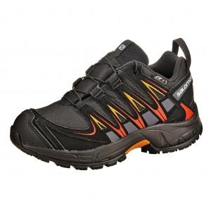 Dětská obuv Salomon XA Pro 3D   /black - Boty a dětská obuv