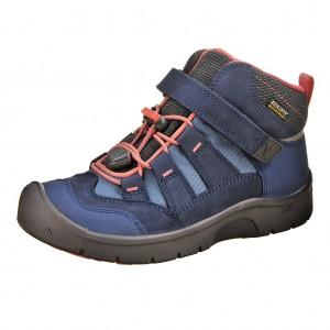 Dětská obuv KEEN Hikeport MID WP  /dress blues/sugar coral -  Sportovní