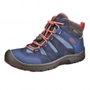 Dětská obuv KEEN Hikeport MID WP  dress blues sugar coral - Celoroční 36189b5da7