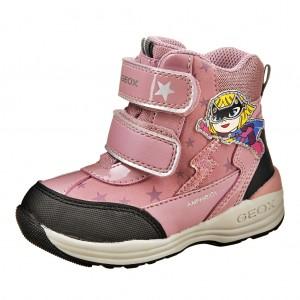 Dětská obuv GEOX B Gulp  /pink - Boty a dětská obuv