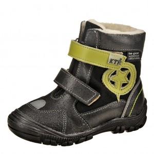 Dětská obuv KTR 315/1/N2   /černá/zelená - Boty a dětská obuv