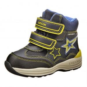 Dětská obuv GEOX B Gulp  /navy/lime - Boty a dětská obuv