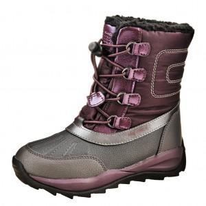 Dětská obuv GEOX J Orizont  /burgundy - Boty a dětská obuv