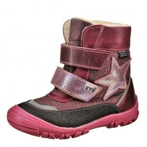Dětská obuv KTR 316/1/N2   /bordeaux - Boty a dětská obuv