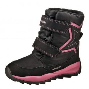 Dětská obuv GEOX J Orizont G.   /black - Boty a dětská obuv