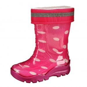 Dětská obuv Gumovky zateplené růžové - Boty a dětská obuv