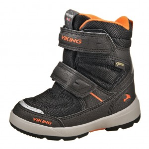Dětská obuv VIKING Skavl II GTX   /blk/orange -