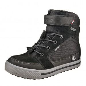 Dětská obuv VIKING Zing GTX   /black/grey -