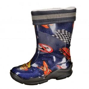 Dětská obuv Gumovky zateplené modré - Boty a dětská obuv