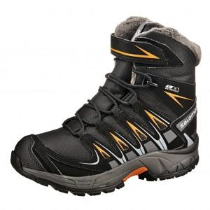 Dětská obuv Salomon XA PRO WINTER  /black - Boty a dětská obuv