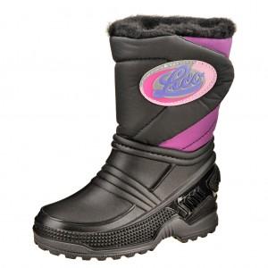 Dětská obuv LICO Terra  /schwarz/lila - Boty a dětská obuv