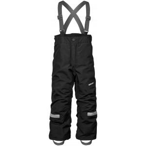 Dětská obuv Kalhoty Didriksons IDRE černé - Oblečení