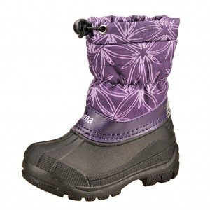 Dětská obuv REIMA Nefar /deep violet - Boty a dětská obuv