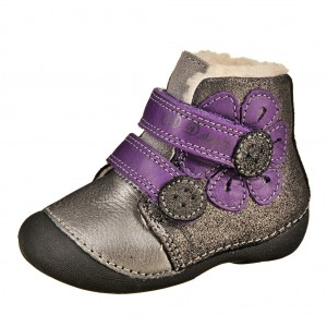 Dětská obuv D.D.Step  Black -  První krůčky