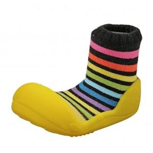 Dětská obuv Attipas Rainbow Yellow *BF - Oblečení