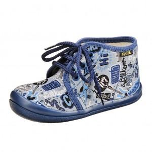 Dětská obuv FAREčky   /modré šněrovací -