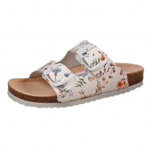 Dětská obuv Santé Pantofle bílé -