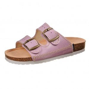 Dětská obuv Santé Pantofle fialové -
