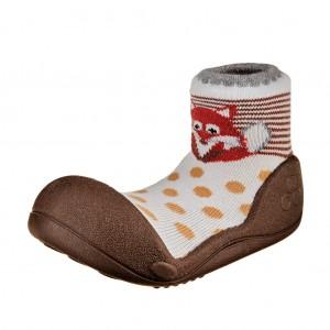 Dětská obuv Attipas ZOO Brown - Oblečení
