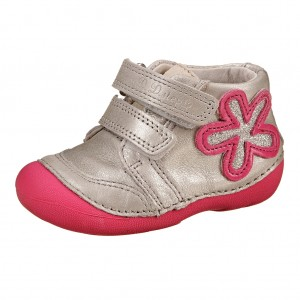 Dětská obuv D.D.Step  White -  První krůčky