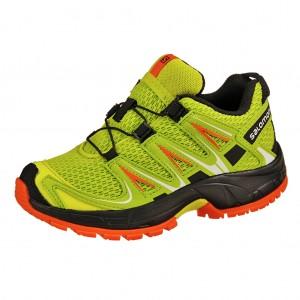 Dětská obuv Salomon XA Pro 3D   /lime punch - Boty a dětská obuv