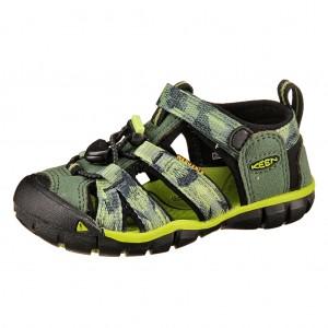 Dětská obuv KEEN Seacamp   /duck green/greenery -