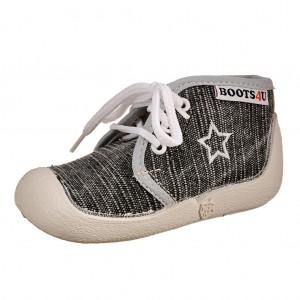 Dětská obuv Boots4U Plátěnky šedé
