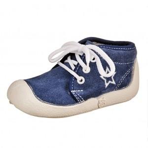 """Dětská obuv Boots4U modré """"Hvězda"""" *BF - Boty a dětská obuv"""