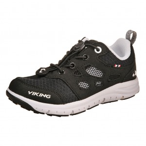 Dětská obuv VIKING Saratoga air  /blk/white -