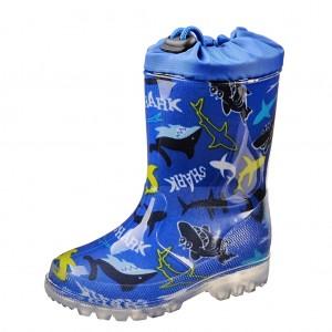 Dětská obuv Gumovky žralok - Gumovky